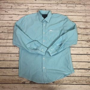 American Rag Men's shirt button down stripe size M